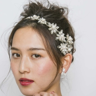 Vera Wang - エリザベスバウアー ヘッドドレス