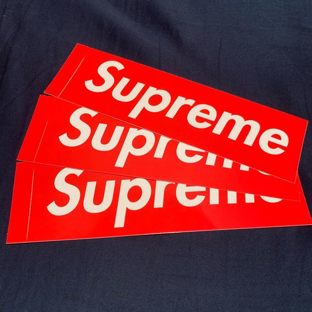 Supreme(シュプリーム)のsupreme ステッカー 自動車/バイクのバイク(ステッカー)の商品写真