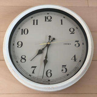 Francfranc - Francfranc 電波時計 壁掛け時計 アンティーク調 カントリー調