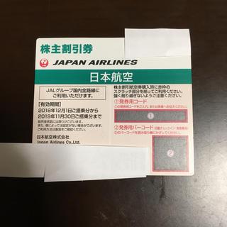 JAL(日本航空) - JAL日本航空株主割引券