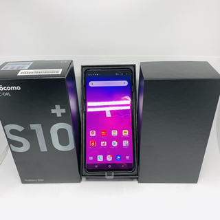 Galaxy - 【SIMフリー】新品 Galaxy S10+ SC-04L ブラック