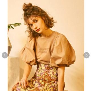 リリーブラウン(Lily Brown)の ボリューム袖Tシャツ リリーブラウン   (Tシャツ(半袖/袖なし))