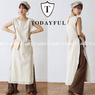TODAYFUL - TODAYFUL【新品タグ付】Piping Long Vest★ungrid