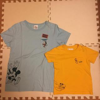 ベルメゾン - ディズニー Tシャツ 親子リンクコーデ 110センチ レディース M セット