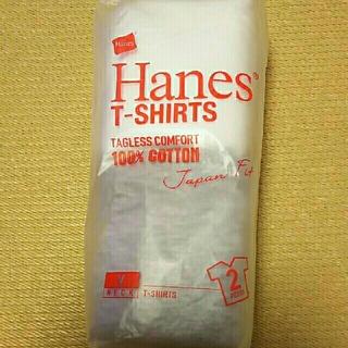 ヘインズ(Hanes)の  ヘインズ VネックTシャツ 2枚(Tシャツ/カットソー(半袖/袖なし))