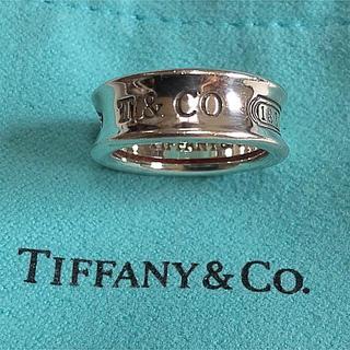 Tiffany & Co. - ● TIFFANY&Co.ティファニー /ナローリング 指輪 シルバー 8号