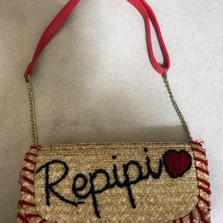 レピピアルマリオ(repipi armario)のレピピアルマリオ  カゴバック(かごバッグ/ストローバッグ)