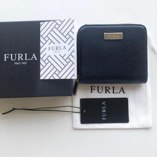 フルラ(Furla)のFURLAフルラ財布ネイビー(財布)