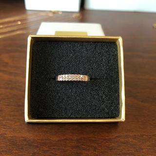 アガット(agete)のk10 ダイヤリング(リング(指輪))