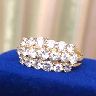 お値下げ!豪華2ct.ダイヤモンドリング(リング(指輪))