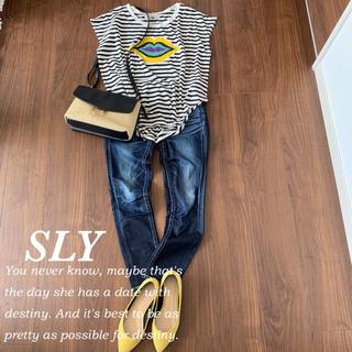 スライ(SLY)のSLYボーダーTシャツ♡(Tシャツ(半袖/袖なし))