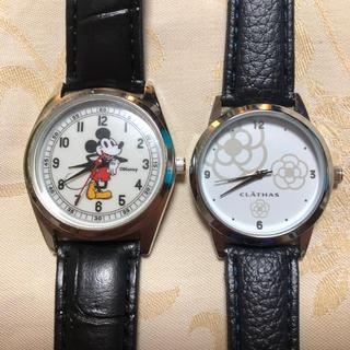 CLATHAS - クレイサス&ミッキー腕時計セット