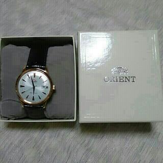 オリエント(ORIENT)のオリエント自動巻き腕時計  ピンクゴールド (さきちゃん様)(腕時計(アナログ))