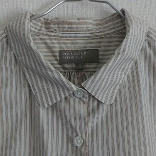 MARGARET HOWELL - 【美品】マーガレットハウエル コットンシャツ サイズ1