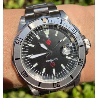 セイコー(SEIKO)のDAGAZ 3H MOD セイコー NH35 ダイバー カスタム ウォッチ(腕時計(アナログ))