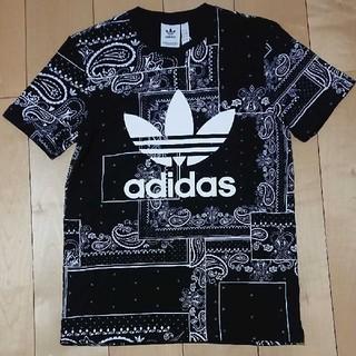 adidas - アディダス 半袖Tシャツ サイズL ブラック 新品・未使用品  ∧