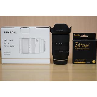 SONY - Tamron 28-75mm F/2.8 + Zeta plusプロテクター