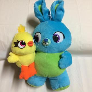 トイ・ストーリー - トイストーリー4 ディズニー  ダッキー バニー ぬいぐるみ 人形  非売品