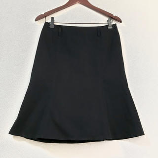 バーバリーロンドン コットン ブラック スカート