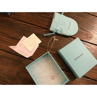 Tiffany & Co. - Tiffany オープンハートネックレス