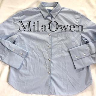 ミラオーウェン(Mila Owen)のMilaOwen  ネルシャツ(シャツ/ブラウス(長袖/七分))