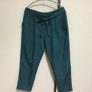 GU - ジーユー 麻&レーヨン パンツ Lサイズ