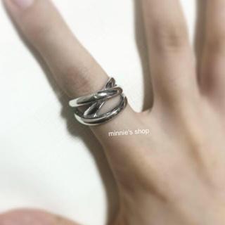 アメリヴィンテージ(Ameri VINTAGE)のデザインリング シルバー(リング(指輪))