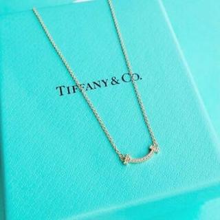 Tiffany & Co. - ティファニーTスマイルネックレス