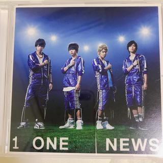 ニュース(NEWS)のNEWS CD ONE ペイントシール、クリアファイル付き(ポップス/ロック(邦楽))