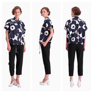 マリメッコ(marimekko)のマリメッコ  ウニッコ   シャツ marimekko unikko  L(シャツ/ブラウス(半袖/袖なし))