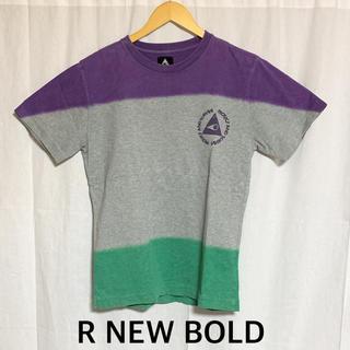 アールニューボールド(R.NEWBOLD)のR.NEW BOLD タイダイ染めプリントTシャツ (Tシャツ/カットソー(半袖/袖なし))