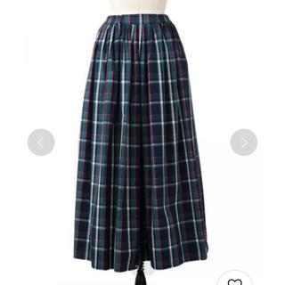Drawer - ドゥロワー マドラスチェック スカート36