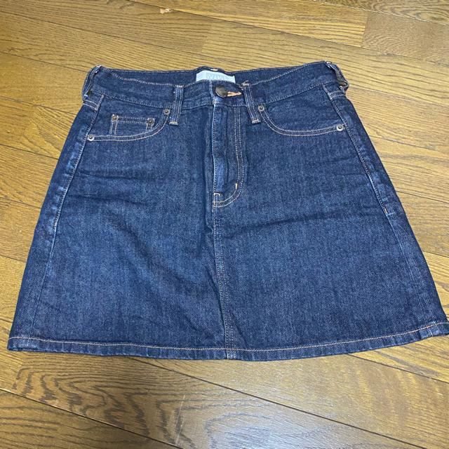 LOWRYS FARM(ローリーズファーム)のローリーズファーム デニムスカート レディースのスカート(ミニスカート)の商品写真