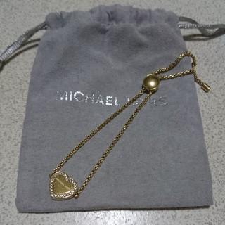 Michael Kors - マイケルコース ブレスレット イエローゴールド  アクセサリー