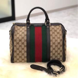 Gucci - グッチ シェリーライン ボストン 2wayバッグ