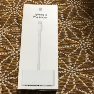 Apple - Apple Lightning VGAアダプタ