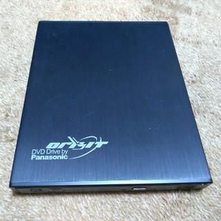 パナソニック(Panasonic)のパナソニック  USB3.0 ポータブルドライブ  外付けプレイヤー(DVDプレーヤー)