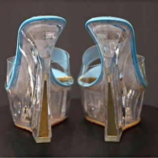 ディズニー(Disney)の【海外輸入】プリンセスへ 美脚ガラスの靴(ハイヒール/パンプス)