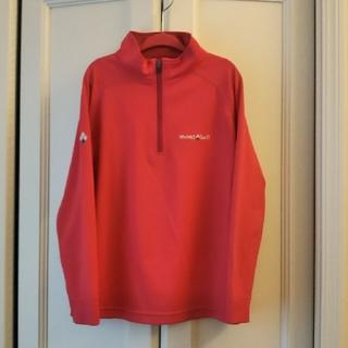 mont bell - モンベルmont-bellクールロングスリーブジップシャツ130サイズ