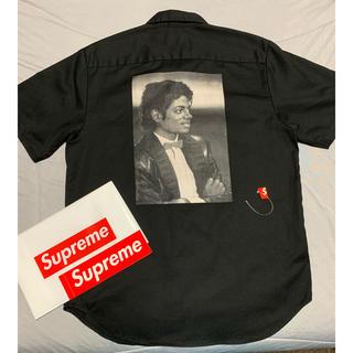 Supreme - supreme Michael Jackson work  shirt