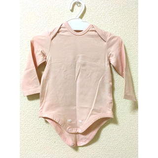 ムジルシリョウヒン(MUJI (無印良品))のオーガニックコットン混長袖ボディスーツ(肌着/下着)