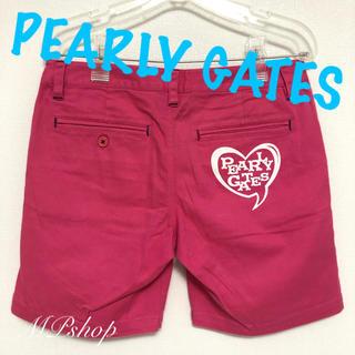 PEARLY GATES - パーリーゲイツ ピンク ゴルフパンツ ハーフパンツ ゴルフウェア