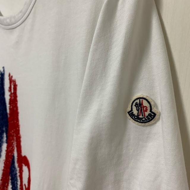 MONCLER(モンクレール)のモンクレール MONCLER 刺繍 Tシャツ 18SS 完売品 メンズのトップス(Tシャツ/カットソー(半袖/袖なし))の商品写真