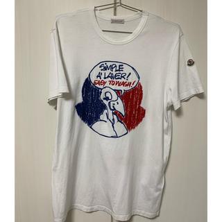 MONCLER - モンクレール MONCLER 刺繍 Tシャツ 18SS 完売品
