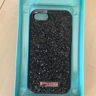 kate spade new york - ケイトスペード  iPhone 7/8 キラキラBLACK