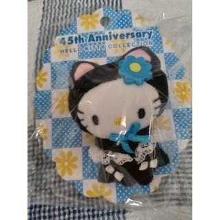 サンリオ(サンリオ)のサンリオ45周年記念★黒猫ピンバッチ(その他)