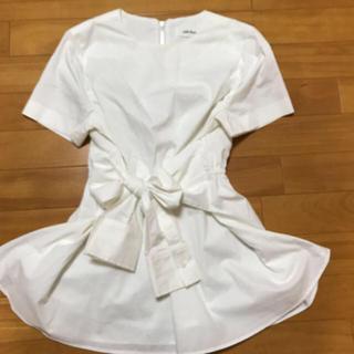 ミラオーウェン(Mila Owen)の❤︎ミラオーウェン❤︎シャツリボントップス(Tシャツ(半袖/袖なし))