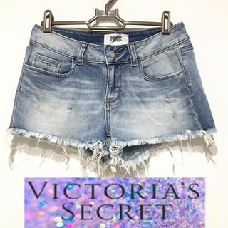 Victoria's Secret - ヴィクトリアシークレット 美品 デニム ショートパンツ
