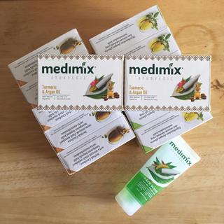 【新品】medimix 石鹸 125g x 12個 & 洗顔フォーム(ボディソープ/石鹸)