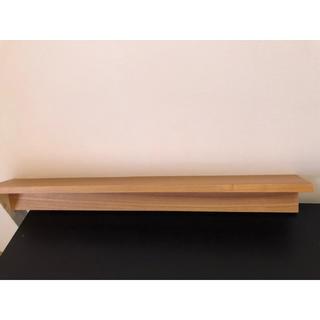 ムジルシリョウヒン(MUJI (無印良品))の無印良品 壁掛けラック(棚/ラック/タンス)